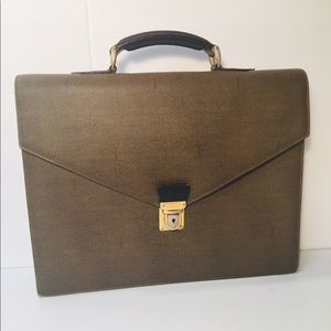 Fendi Vintage Briefcase Document Business Bag